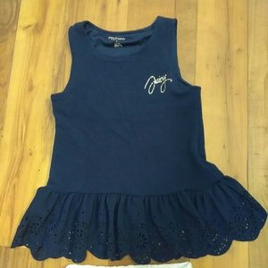 Girls Juicy Couture Tank and Legging Set